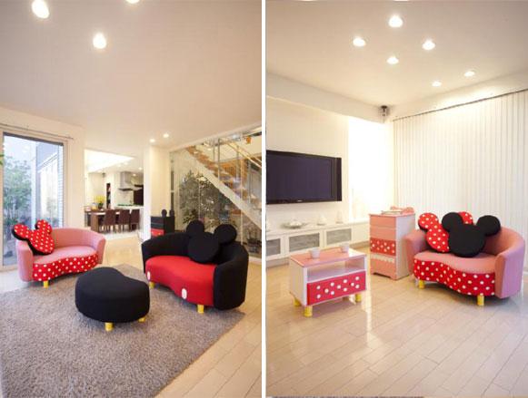 Muebles de Mickey y Minnie