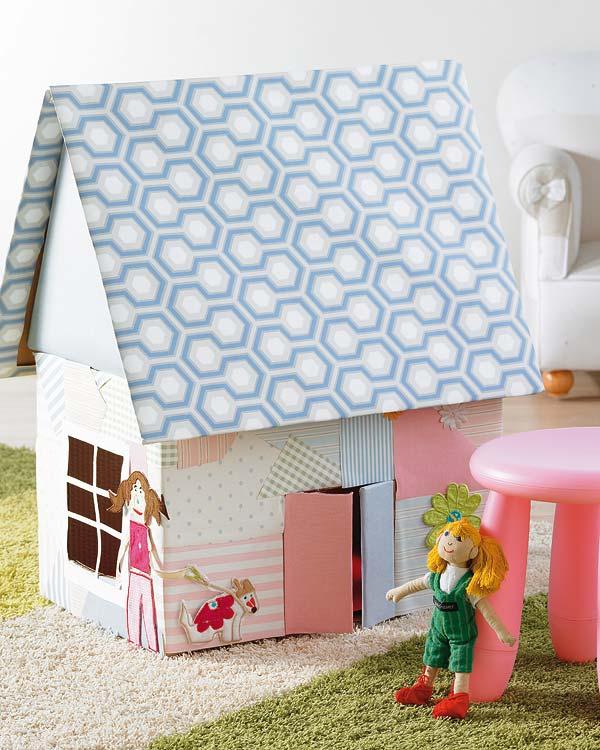 Casa en constructor como hacer una casa de munecas en carton - Como hacer una casa de carton pequena ...