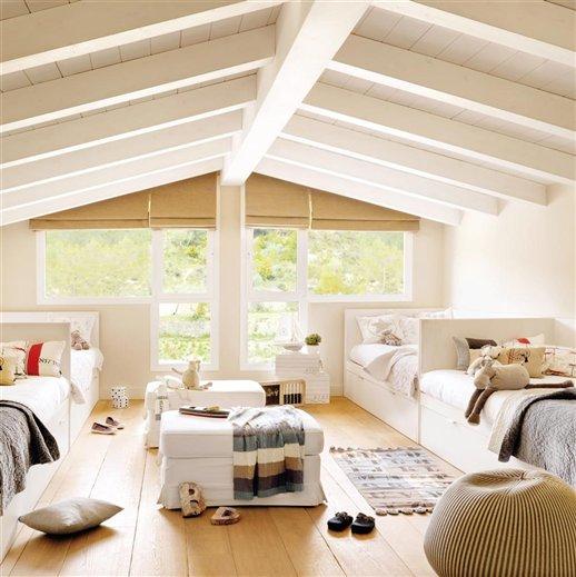 Ejemplos de habitaciones infantiles compartidas - Habitaciones infantiles compartidas ...
