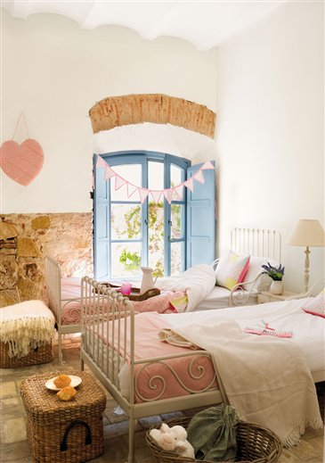 Ejemplos de habitaciones infantiles compartidas for Habitaciones ninos el mueble