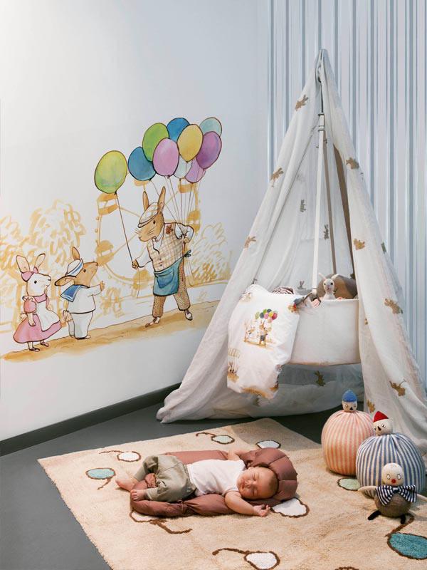 PAREDES   Murales Infantiles De Papel   PAPEL PINTADO INFANTIL