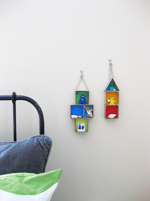Manualidades decorativas con cajas de cart n for Manualidades decoracion infantil