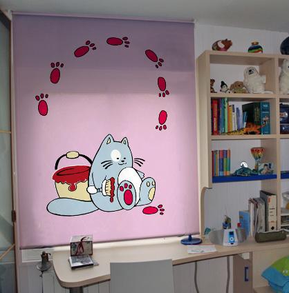 Estores enrollables infantiles - Ideas para decorar estores ...