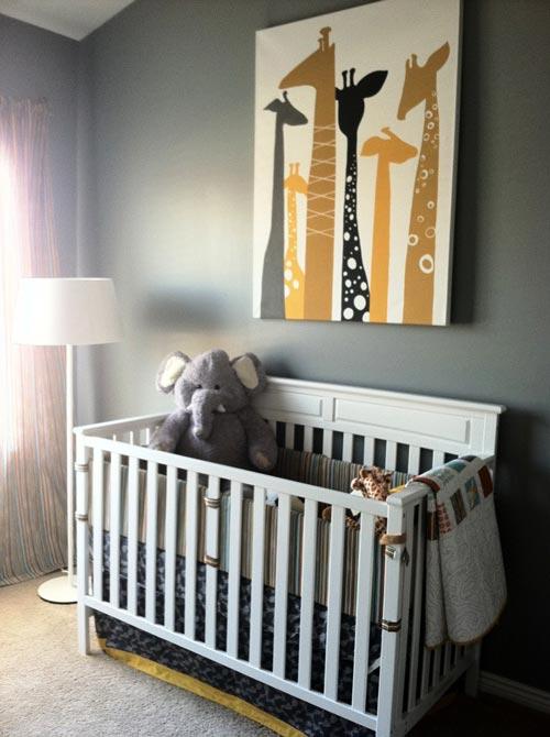 Ideas para habitaciones de bebes jirafas - Ideas habitaciones ninos ...