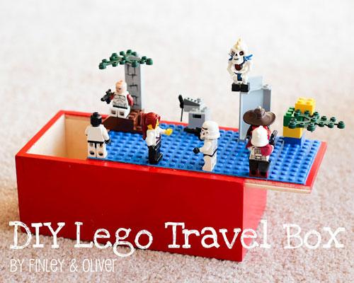 Caja de viaje lego construcciones - Construcciones de lego para ninos ...