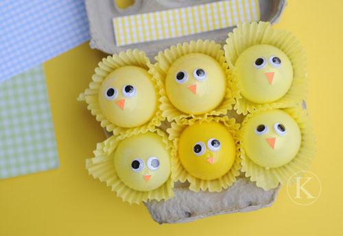 Decorar huevos de forma rápida y sencilla