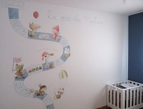 Erase una vez murales decorativos decoideas net - Murales en habitaciones ...