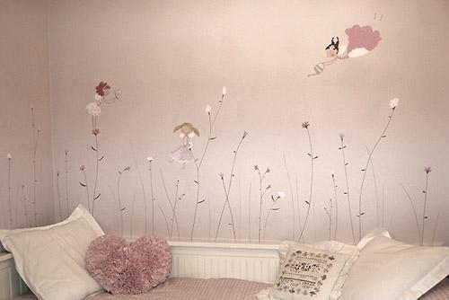 Erase una vez murales decorativos decoideas net - Murales para habitaciones de bebes ...