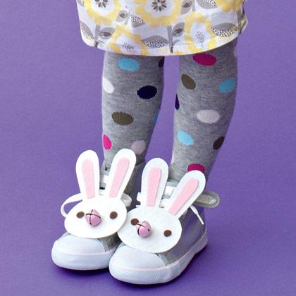 Decorar las zapatillas de Pascua