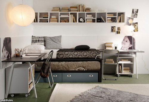 Camas juveniles compactas decoideas net for Dormitorio juvenil nina