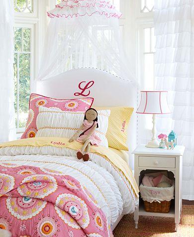 Habitaci n infantil rom ntica decoraci n infantil for Ideas para decorar una habitacion romantica