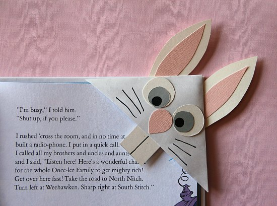 Marcapáginas Conejo