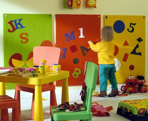 Decoracion Infantil Pared ~ paredes infantiles