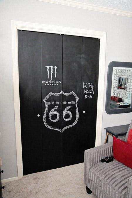Pintura pizarra para armarios infantiles - Pintura pizarra imantada ...
