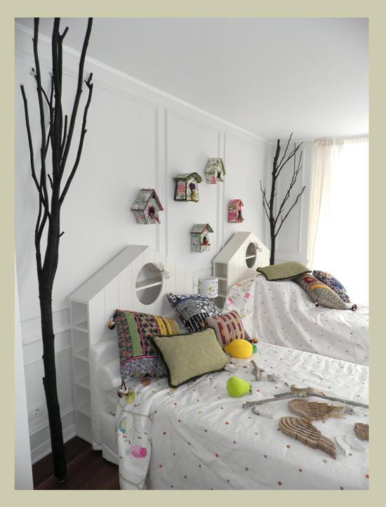 Un cabecero de cama original - Cabeceros baratos y originales ...