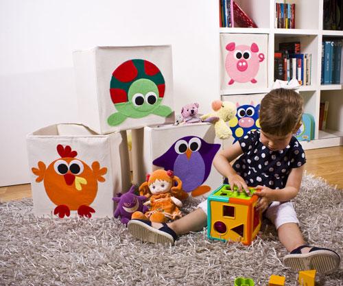 Cajas decoradas for Recoger muebles