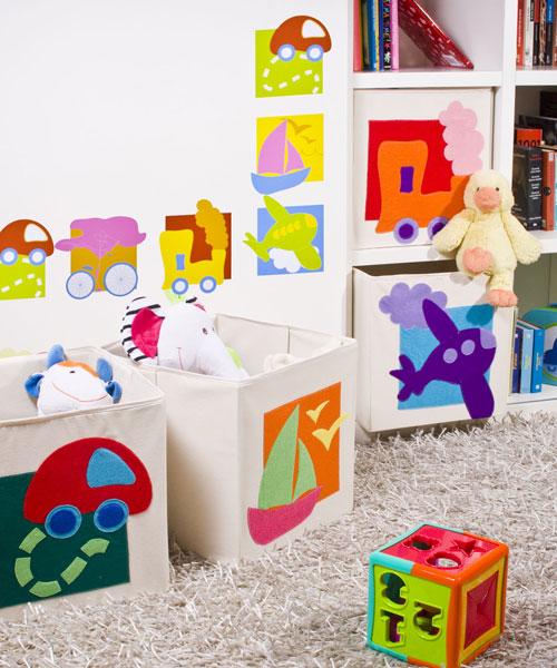 Cajas decoradas - Cajas para almacenar juguetes ...