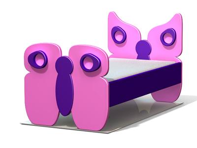 La Cama Mariposa es perfecta para niñas dulces y con mucha