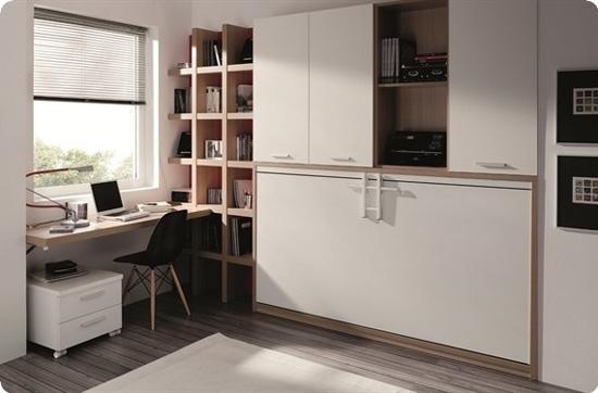 Camas abatibles para ahorrar espacio - Muebles cama abatibles ikea ...