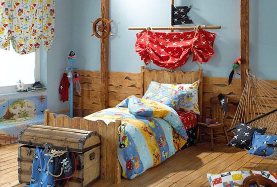 Habitaciones tem ticas de piratas - Habitaciones infantiles tematicas ...