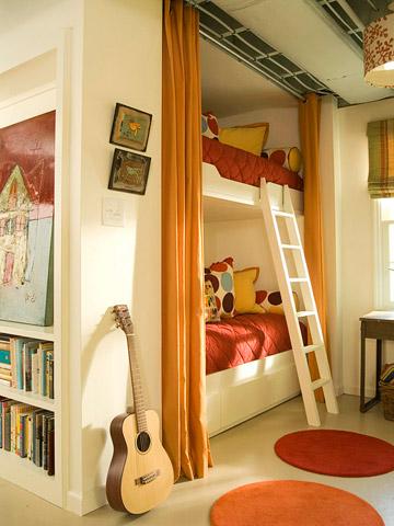 Dormitorios juveniles con literas