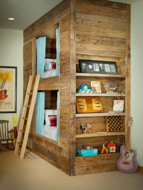 Dormitorios juveniles con literas decoideas net for Literas juveniles ikea