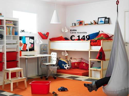 Mobiliario para dormitorios infantiles - Ikea mobiliario para ninos ...