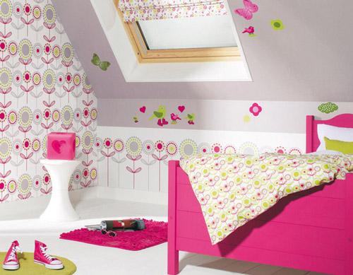 Papel pintado ni os - Ideas para pintar habitaciones infantiles ...