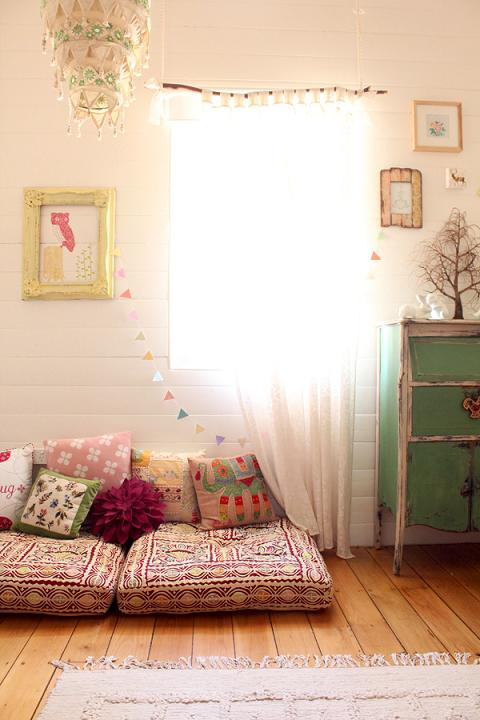Cortinas infantiles idea decoideas net for Cortinas vintage dormitorio