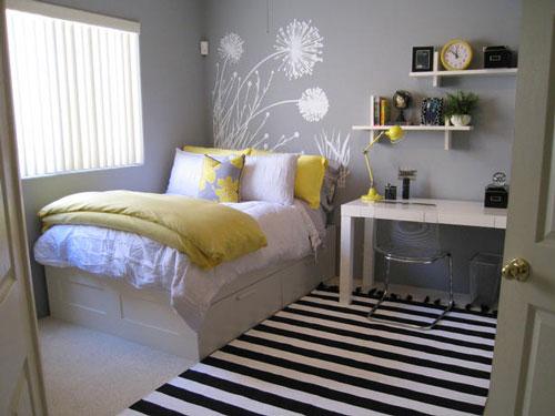 Habitaciones de color gris juveniles