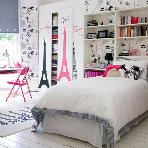 Dormitorios solo para chicas decoideas net - Habitaciones juveniles para chicas ...