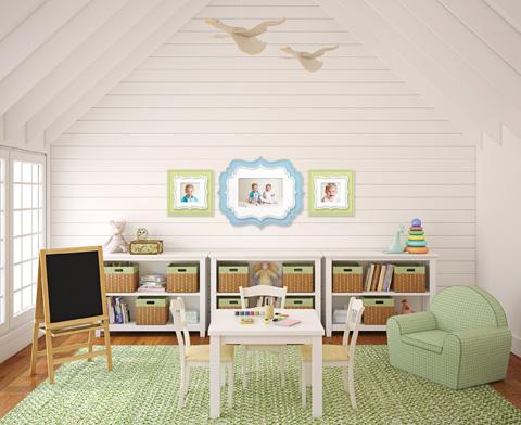 Inspiraci n habitaciones de juego - Decorar habitacion juegos para ninos ...