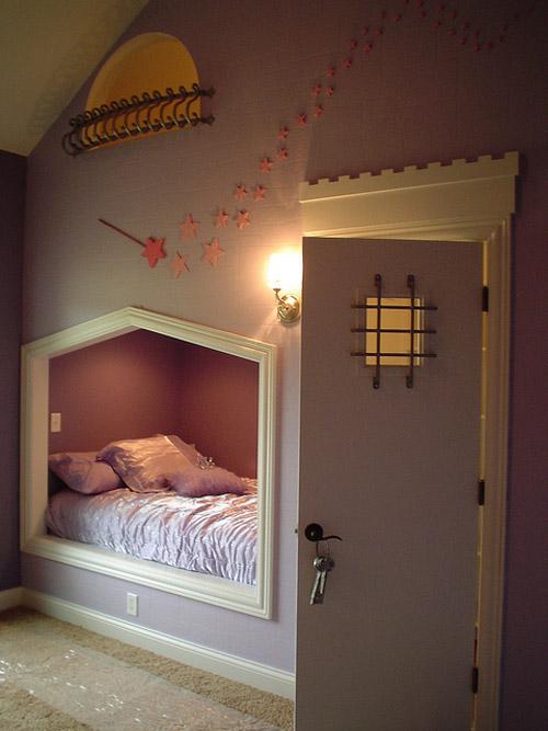 Habitaciones para pequeñas princesas