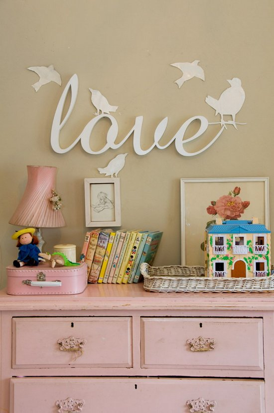 Letras para decorar paredes decoideas net - Letras de decoracion ...