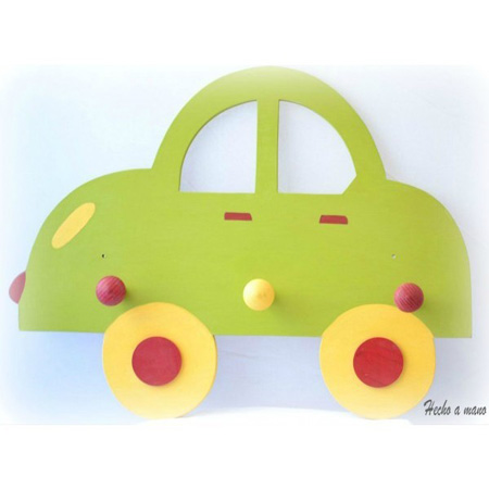 Percheros de pared for Perchero pared infantil