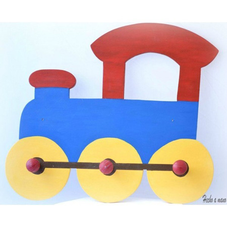 Percheros de pared for Ideas para decorar paredes infantiles