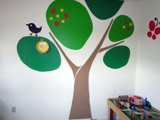 Paredes infantiles pintadas decoideas net for Paredes pintadas originales