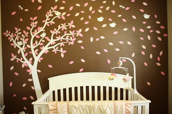 Habitaciones de bebés decoradas con árboles | Decoideas.Net