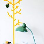 Decorar con un árbol de washi tape