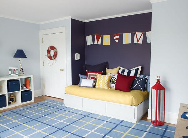 Decoraci n para ni os estilo marinero for Ideas decoracion habitacion juvenil nino
