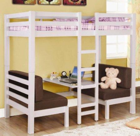 Literas infantiles fotos de habitaciones infantiles con - Literas modernas para jovenes ...
