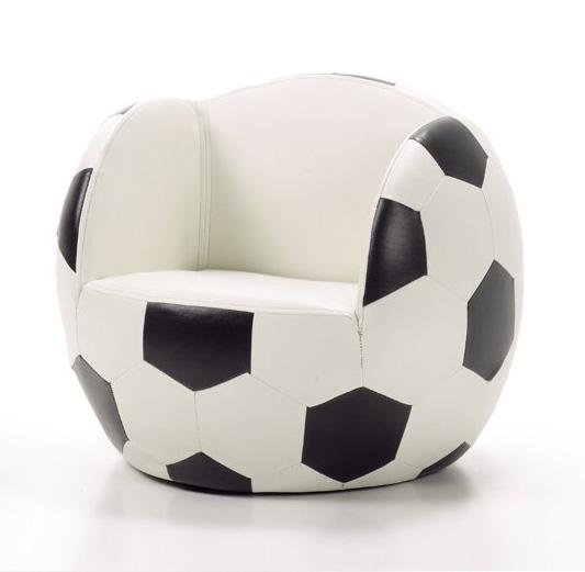 Sillón para niños con forma de balón