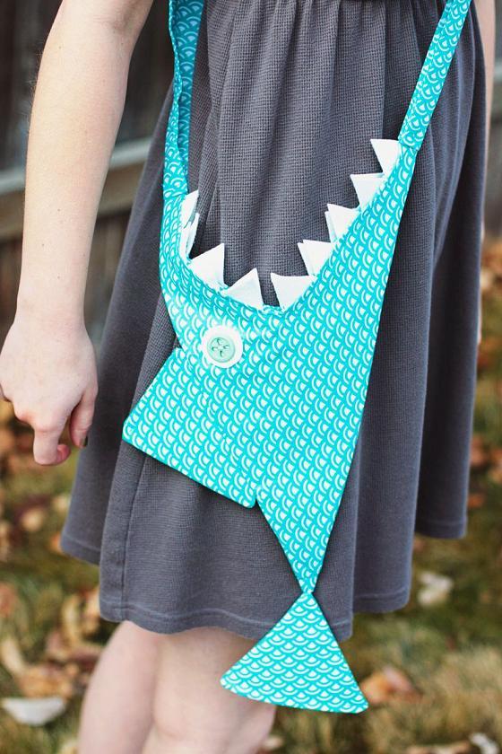 Hazlo tu mismo: bolso tiburon