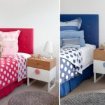 Dormitorio rosa o azul