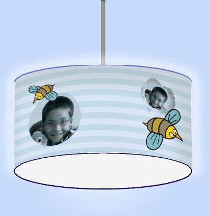 lámparas infantiles personalizables
