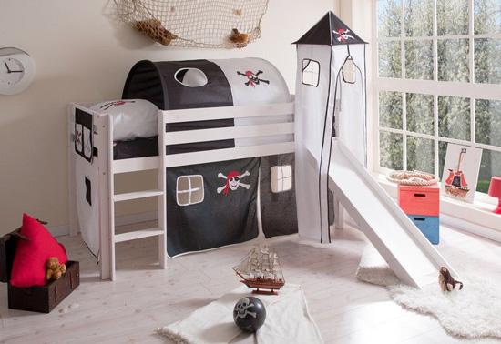 Literas para ni os caballeros y princesas - Literas para ninos espacios pequenos ...