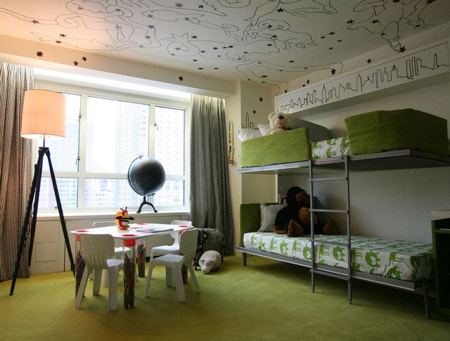Literas infantiles fotos de habitaciones infantiles con - Habitacion con literas para ninos ...