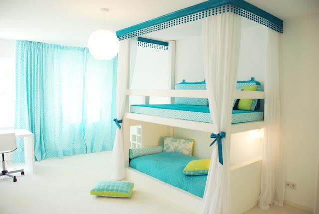 Cool Teenage Girl Bedrooms Bunk Bed 640 x 429