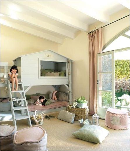 Dormitorios infantiles con literas