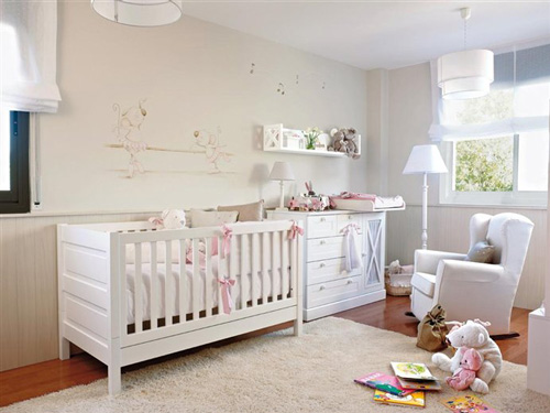 Decorar paredes habitaci n beb decoideas net - Decorar dormitorio bebe ...